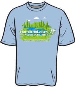 Hamilton lakes shirt design